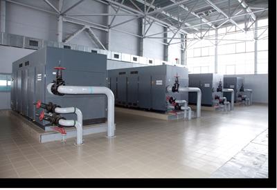 Atlas Copco Centrifugal Compressor Installation
