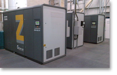 Z-Machine Oil-Free Compressor Installation