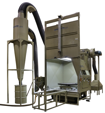 Abrasive Blast Cabinets for Aerospace